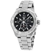 TAG Heuer Men's CAY1110.BA0927 Aquaracer Chronograph Black Dial