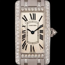 Cartier Tank Américaine pre-owned 19mm White gold
