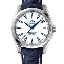 Omega Seamaster Aqua Terra Titane 38.5mm Blanc