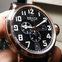 Zenith Pilot Type 20 Annual Calendar Titanium 48mm Black United States of America, North Carolina, Winston Salem