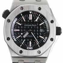 Audemars Piguet Royal Oak Offshore Diver Steel 42mm Black United States of America, New York, Smithtown