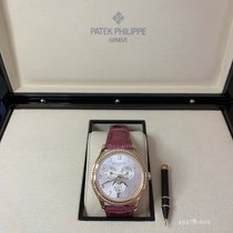 Patek Philippe Annual Calendar Rose gold 38mm Silver Arabic numerals