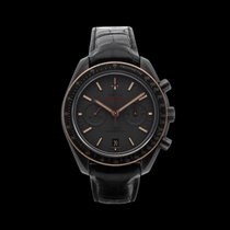 Omega Speedmaster Professional Moonwatch Ceramic Black No numerals South Africa, Centurion