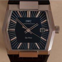 IWC Da Vinci Automatic Staal 41mm Zwart Geen cijfers Nederland, Amstelveen