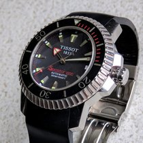 Tissot Seastar 1000 Ocel 42mm Černá Bez čísel