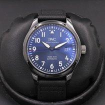 IWC Ceramic Blue 41mm pre-owned Pilot Mark