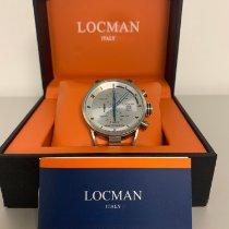 Locman Montecristo Titanium 44mm Silver