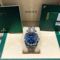 Rolex Datejust Steel 41mm Blue Roman numerals United States of America, Illinois, Springfield