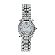 Chopard Happy Sport pre-owned 26mm Mother of pearl Steel