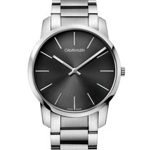 ck Calvin Klein Steel 43mm Quartz K2G21161 new