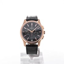 Zenith Captain Chronograph Rose gold 42mm Black