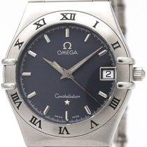 オメガ (Omega) Constellation Steel Quartz Mens Watch 1512.40...