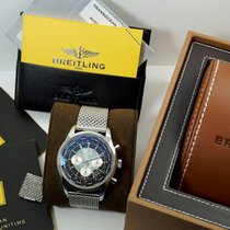 Breitling Transocean Chronograph Unitime Steel 46mm Black No numerals United States of America, Texas, Houston