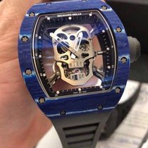 Richard Mille RM52 Tourbillon Skull Blue Limited 10 pcs