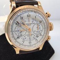Baume & Mercier Capeland 18k Rose Gold Flyback Chronograph...