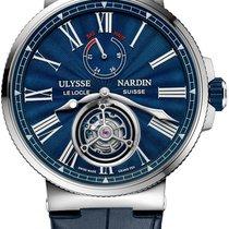 Ulysse Nardin Marine Tourbillon Stainless Steel Men's Watch