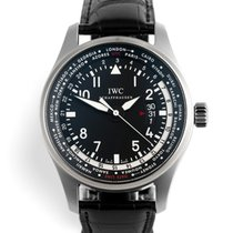 IWC Pilot Worldtimer Steel United Kingdom, London