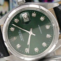 Rolex Oyster Date  Precision Winding Steel Mens Vintage Watch