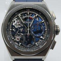 Zenith Defy El Primero 21 Automatic Titanium Skeleton Blue...