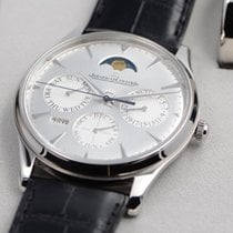 Jaeger-LeCoultre Master Ultra Thin Perpetual Steel 39mm Silver No numerals United States of America, Texas, Houston