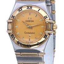 Omega Constellation Ladies Goud/Staal 24mm Champagne Geen cijfers Nederland, Katwijk aan zee