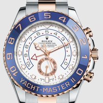 Rolex Yacht-Master II Gold/Steel 44mm White No numerals United States of America, New Jersey, Totowa