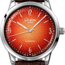 Glashütte Original Sixties Steel 39mm Orange United States of America, New York, Airmont