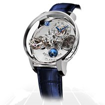 Jacob & Co. Astronomia Oro blanco 50mm Transparente Romanos