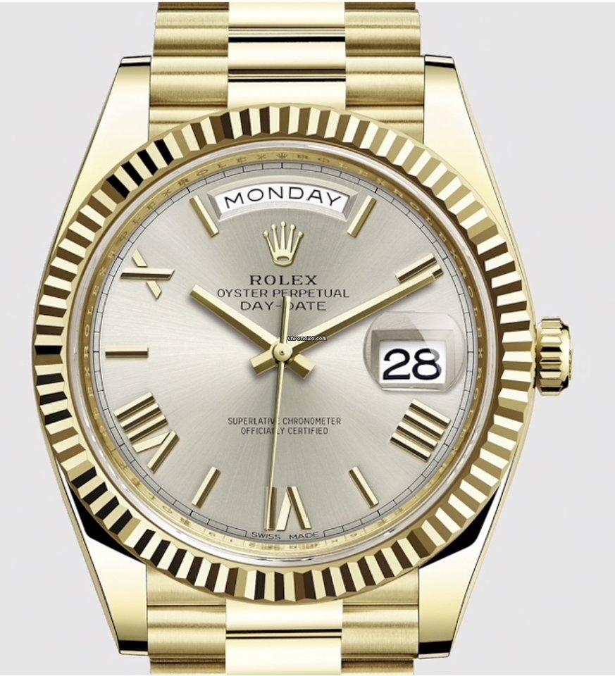 Rolex Day,Date 40 228238 NEW