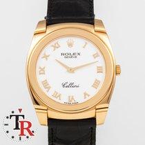 Rolex Cellini Żółte złoto 36mm Biały