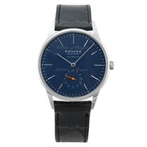 NOMOS Orion Neomatik Staal 38.5mm Blauw