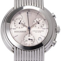 Boucheron Steel 40mm Automatic 35 32 37 pre-owned