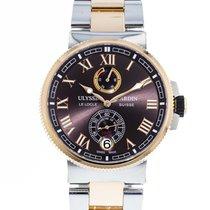 Ulysse Nardin Marine Chronometer Manufacture 1185-126 2010 pre-owned