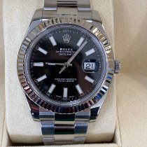 Rolex Datejust II pre-owned 41mm Black Date Steel
