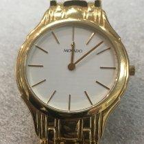 Movado Horloge tweedehands 2005 Geelgoud Quartz Alleen het horloge