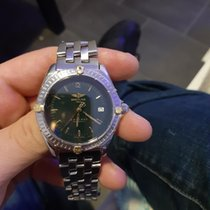 Breitling Antares Gold/Steel Green No numerals