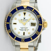 Rolex Submariner Gold/Steel 40mm White United States of America, California, Los Angeles