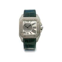 Cartier Палладий Механические Cеребро Santos 100