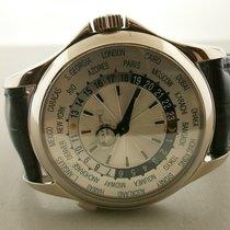 Patek Philippe World Time 39mm Srebrny