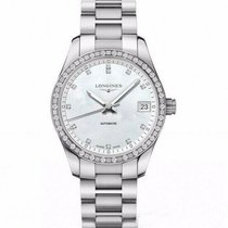 Longines Conquest Classic Steel 34mm Mother of pearl United States of America, Florida, Sarasota