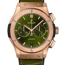 Hublot Classic Fusion Chronograph Rose gold 42mm Green