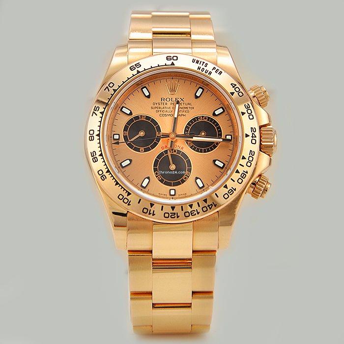 Rolex Daytona Rose Gold Paul Newman 116505 For 36 500 For