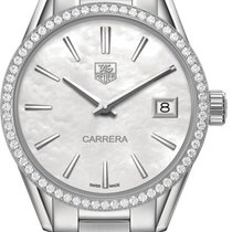 TAG Heuer Carrera Lady Steel 32,00mm Mother of pearl