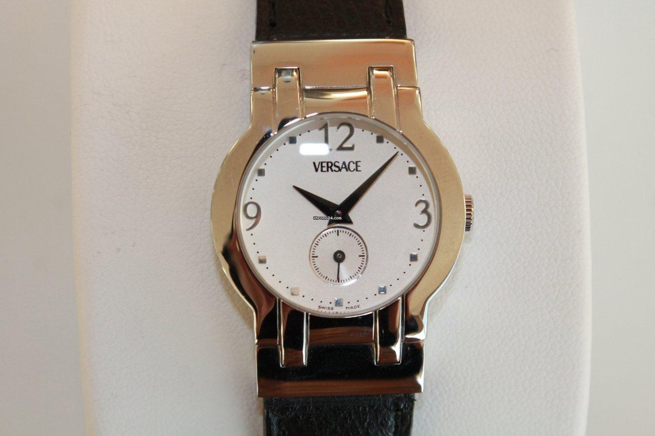 44388168651 Comprar relógios Versace Aço