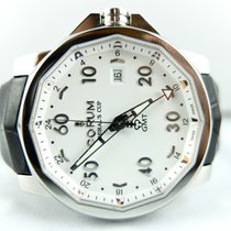 Corum Admirals Cup GMT Steel White