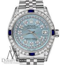 Rolex Datejust Stahl 36mm Blau