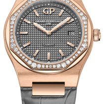 Girard Perregaux Laureato Rose gold 34mm Grey United States of America, New York, Airmont