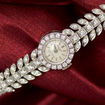 Patek Philippe VINTAGE  1940s ladies 18kt WG Diamond set