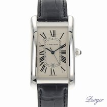 Cartier Tank Americaine GM White Gold