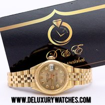 Rolex Lady-Datejust Ref. 6927 Gold 18KT Just Serviced